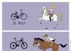 Enlace a Tipos de bicicletas