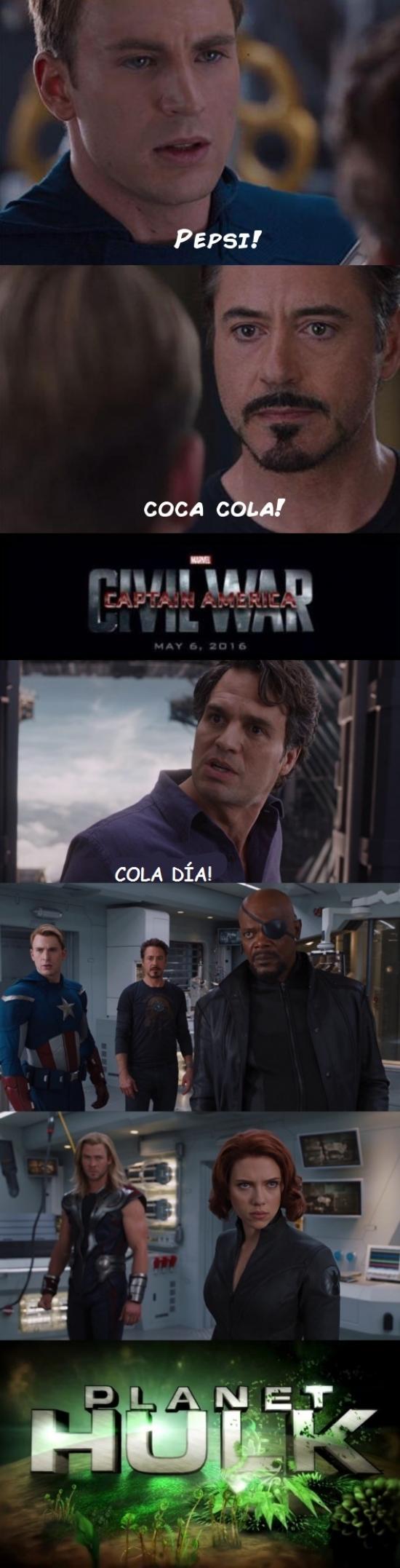Otros - Civil War no tiene nada que hacer si entra en juego Planet Hulk