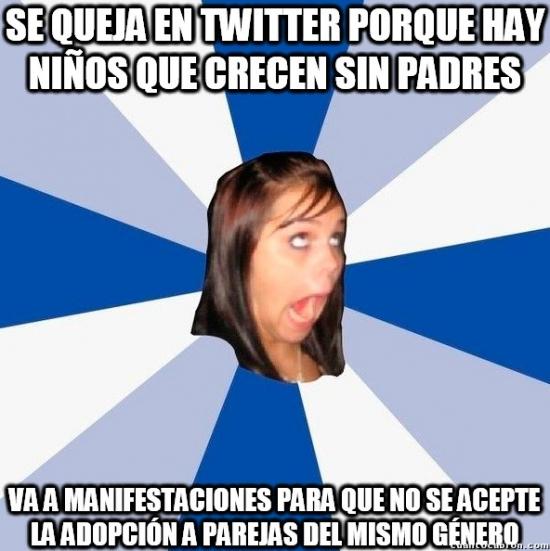 Amiga_facebook_molesta - Hipocresía homofóbica de nivel máximo