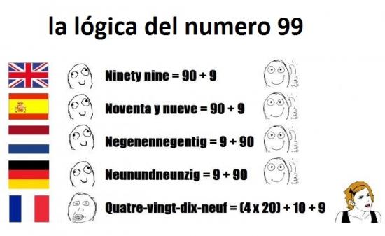 Are_you_serious - ¿Cómo escribes el número 99 según el idioma?