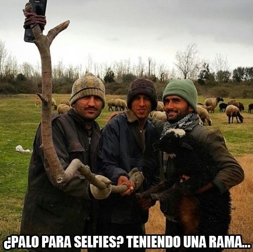 Meme_otros - Los selfies llegando al medio rural