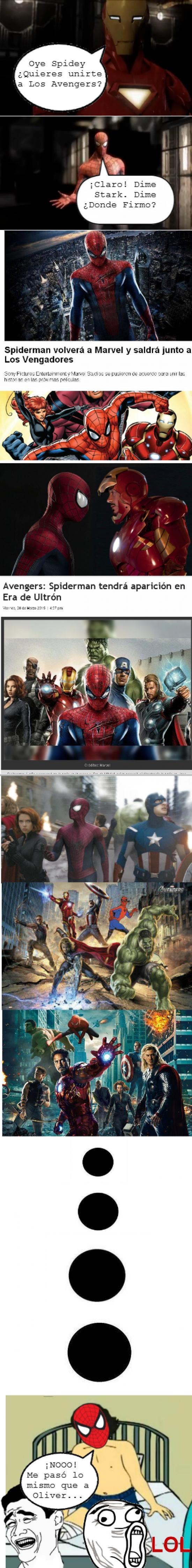 Yao - La verdad sobre Spider-man en Los Vengadores