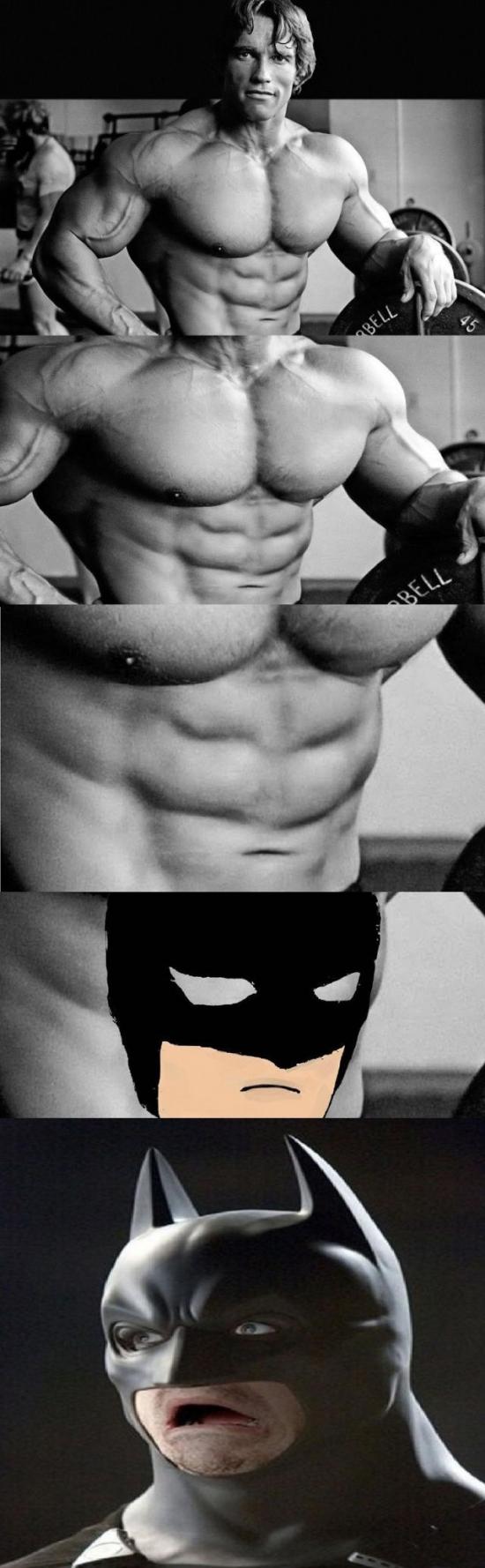 Otros - Esos abdominales me recuerdan a alguien...