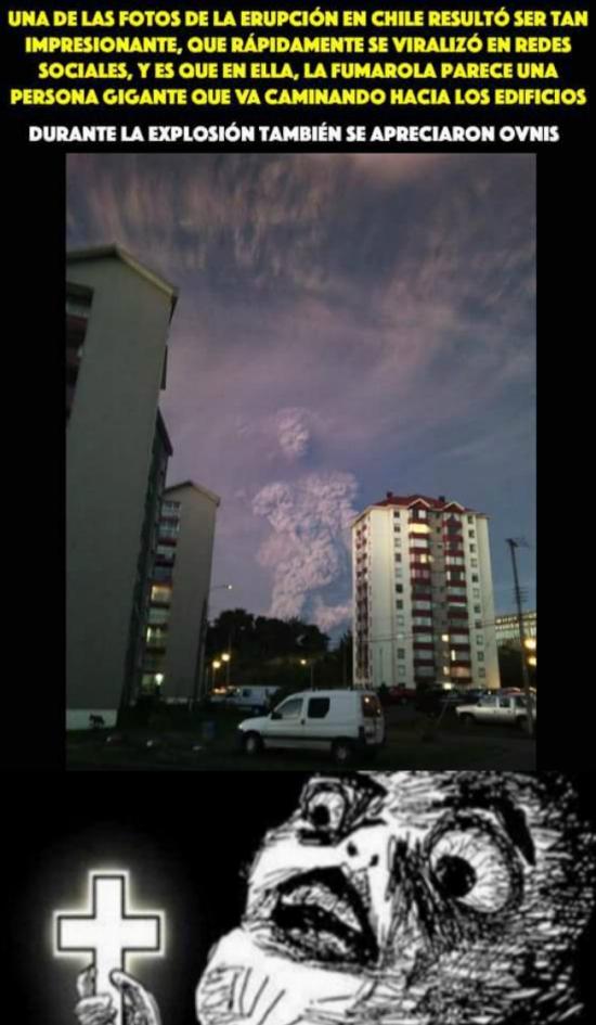 Inglip - Cuando aparece algo más que solo humo en una erupción volcánica