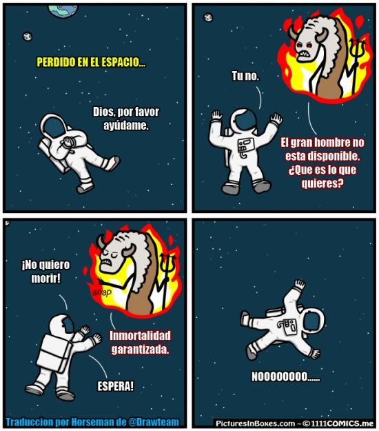 astronauta,demonio,diablo,espacio,inmortal,inmortalidad