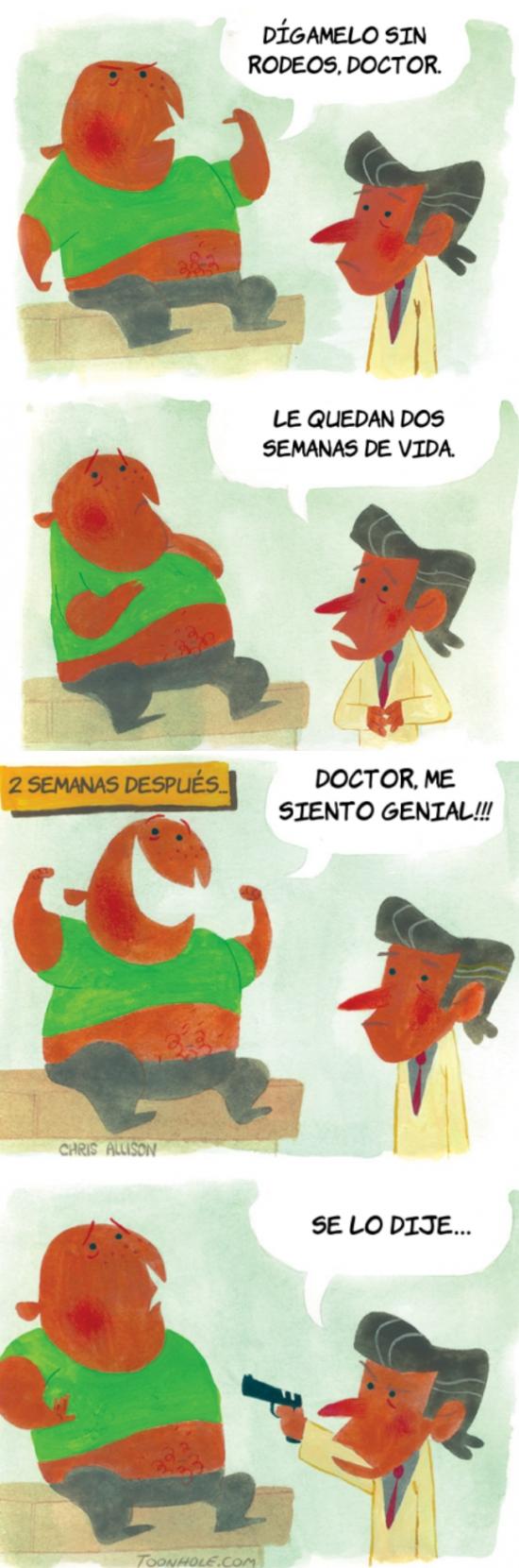 Otros - No siempre te fíes de lo que dice un doctor