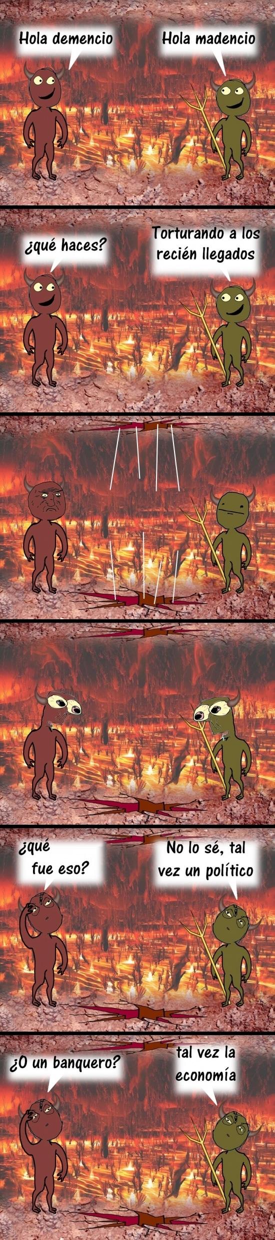 Otros - ¿Qué cayó en el infierno?