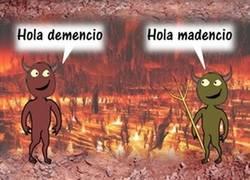Enlace a ¿Qué cayó en el infierno?