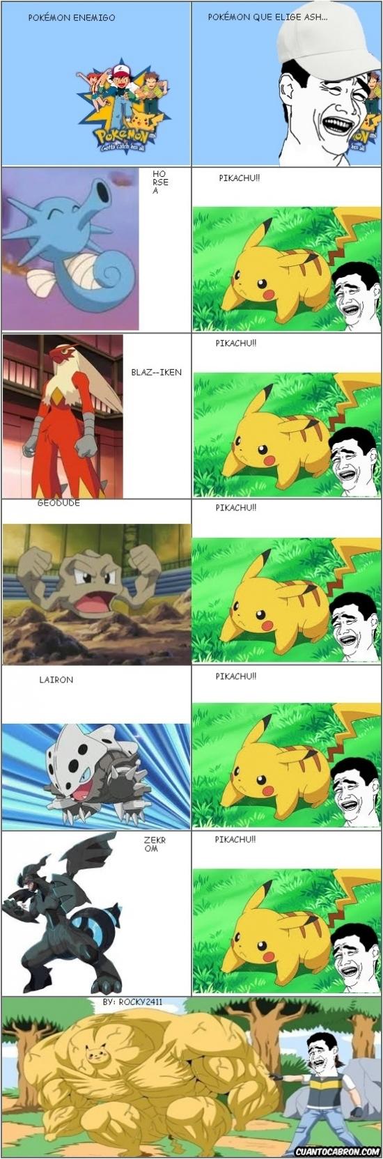Yao - Y así es como uno acaba teniendo al Pokémon más potente de la historia
