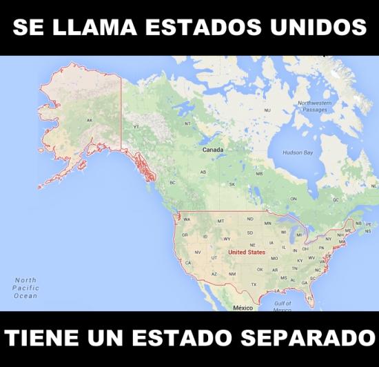 Meme_otros - ¡Bienvenidos a los Estados Casi Unidos!