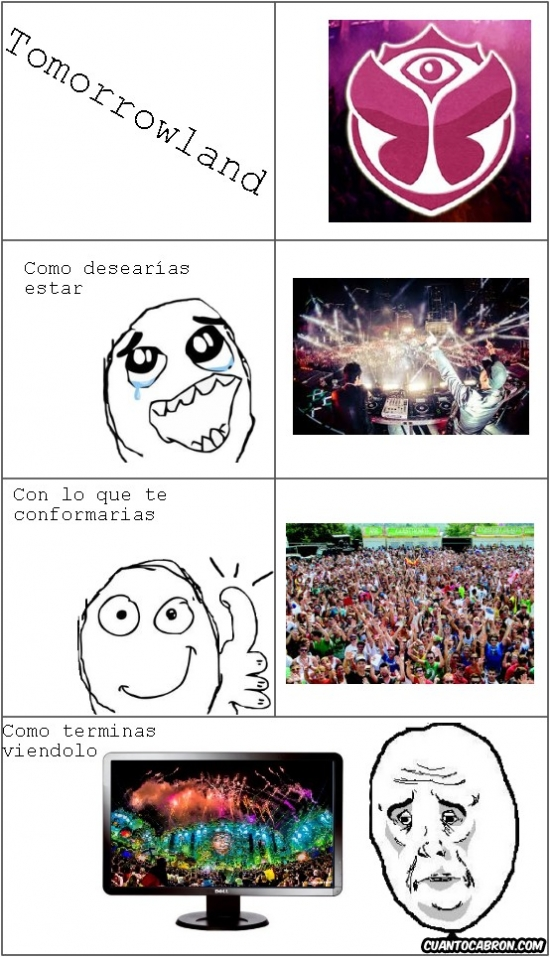 Okay - El drama del Tomorrowland