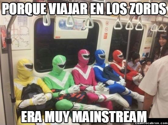 Meme_otros - Los Power Rangers también están entrando a la moda hipster