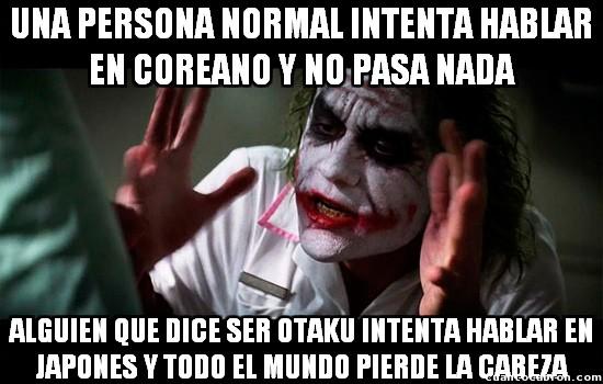 Joker - Y a mí jamás me han molestado por hablar otro idioma