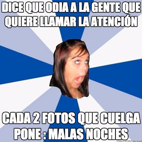 Amiga_facebook_molesta - Siempre habla el cojo en la puerta del lisiado