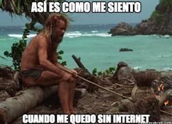 Enlace a Quedarse sin Internet hoy en día es equivalente a...