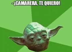 Enlace a Yoda lo tiene muy difícil para declarar su amor