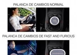 Enlace a Fast and Furious y los cambios de marcha