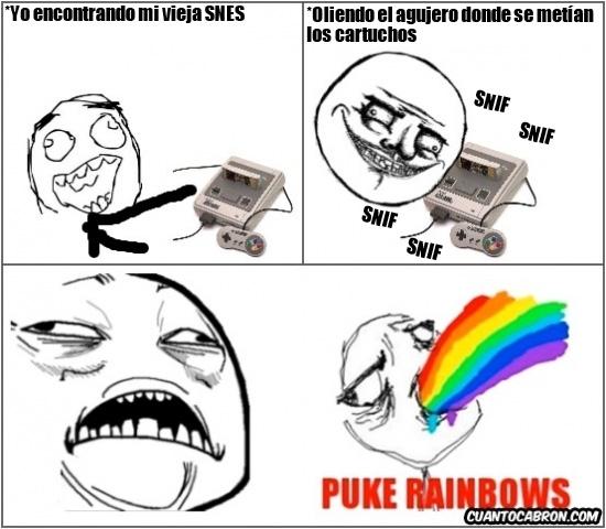 Puke_rainbows - Ese mágico y nostálgico olor a 16 bits