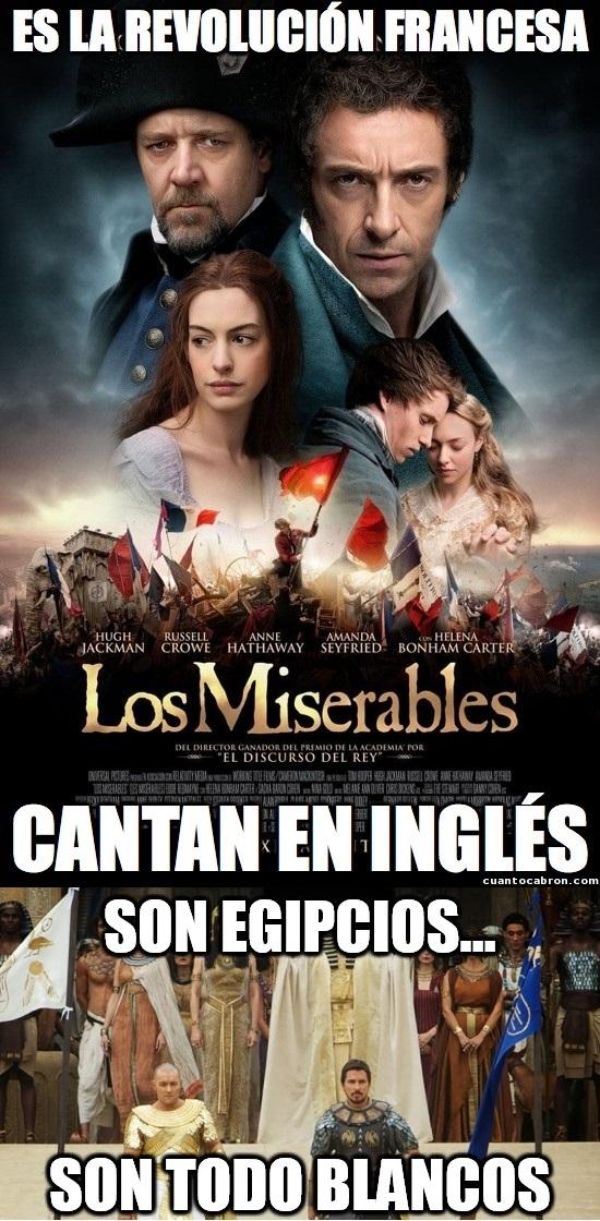 Meme_otros - Si el idioma de las canciones de Los Miserables te resultó extraño, espera a ver lo de Exodus