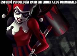 Enlace a La verdadera pasión de Harley Quinn