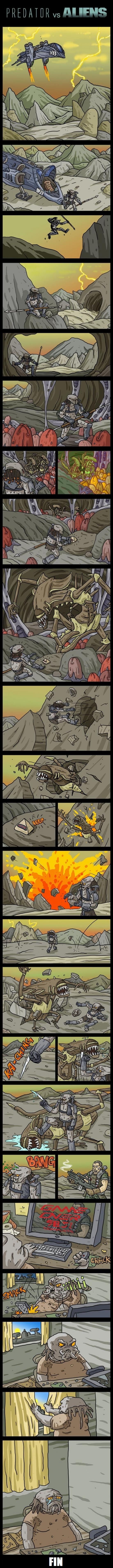 Otros - La verdadera historia de Alien vs. Predator