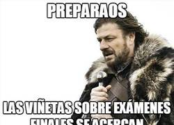 Enlace a Exámenes finales, se acercan