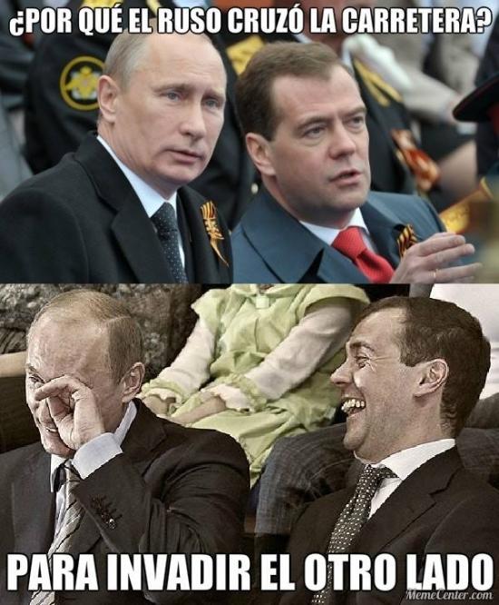 Meme_otros - La vida sin chistes de rusos no molaría tanto
