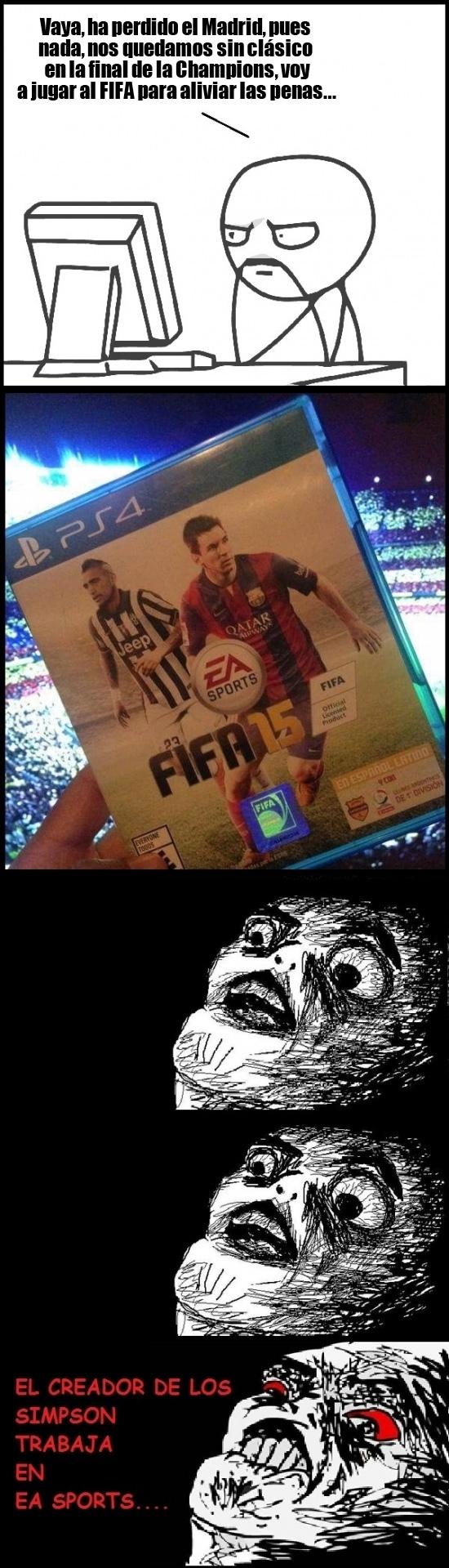 Inglip - Los creadores del FIFA 15 lo sabían