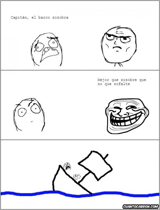 Trollface - ¿Sabes lo que significa zozobrar?