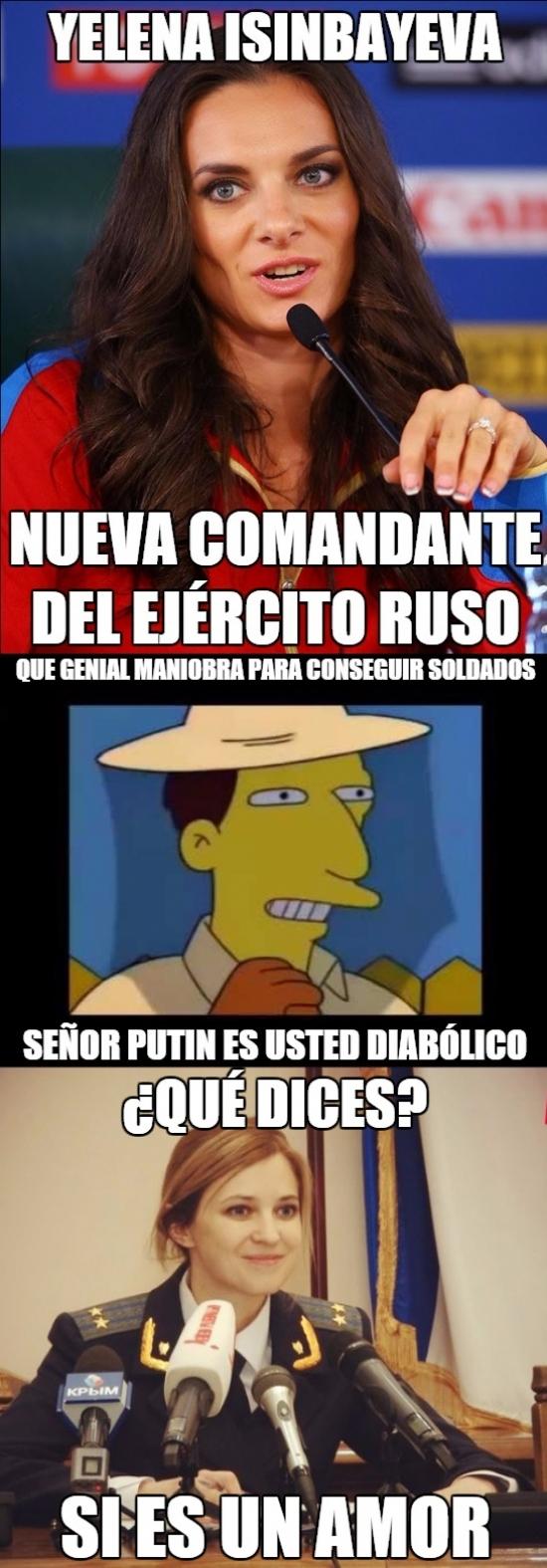 Meme_mix - Putin sabe cuál es la mejor manera de conquistar el mundo