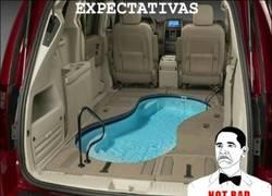 Enlace a ¡Quiero tener una piscina en el coche!