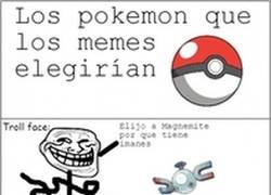 Enlace a Los Pokémon que elegirían los memes