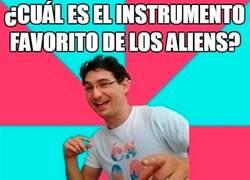 Enlace a El instrumento alien