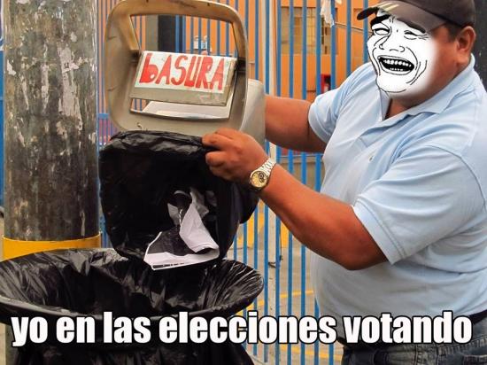 Meme_otros - Votando en las elecciones