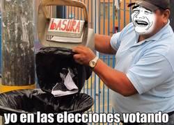 Enlace a Votando en las elecciones