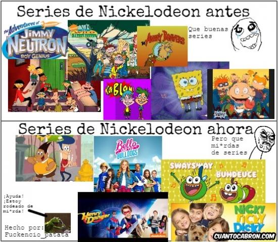 Infinito_desprecio - Nickelodeon, ¿qué te ha pasado?