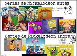 Enlace a Nickelodeon, ¿qué te ha pasado?