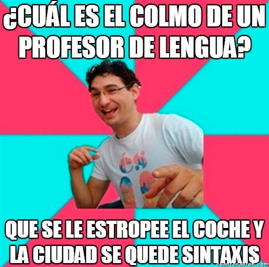 Bad_joke_deivid - Los profesores de lengua y sus problemas