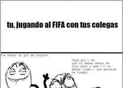 Enlace a La misma historia de siempre con el FIFA