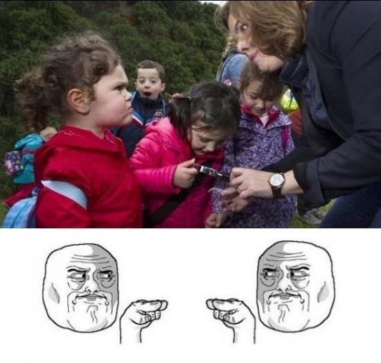 Im_watching_you - Duelo de miradas, si es que a los niños no se les puede engañar