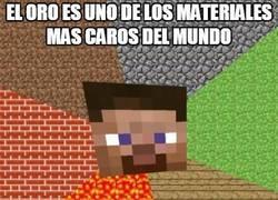 Enlace a Minecraft se ríe de nuestro sistema de valores