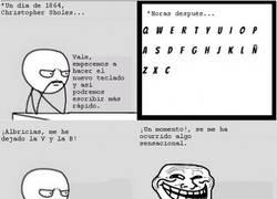 Enlace a El teclado está hecho para trollear a los que escriben en español