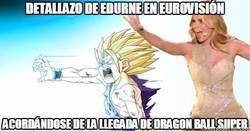 Enlace a Son Goku estaría orgulloso de ti, Edurne