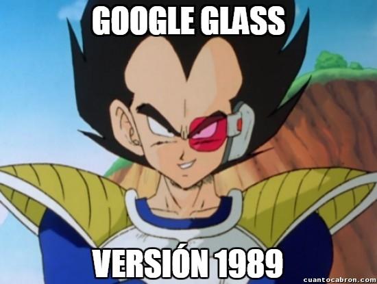 Meme_otros - Vegeta ya las usaba antes de que fueran mainstream