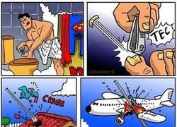 Enlace a No es aconsejable que Superman se corte las uñas