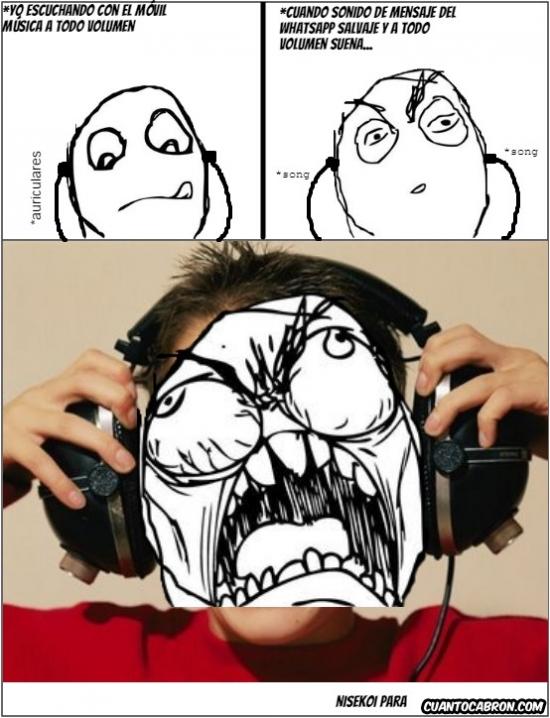 Ffffuuuuuuuuuu - Lo peor que te puede pasar escuchando música a todo volumen con auriculares