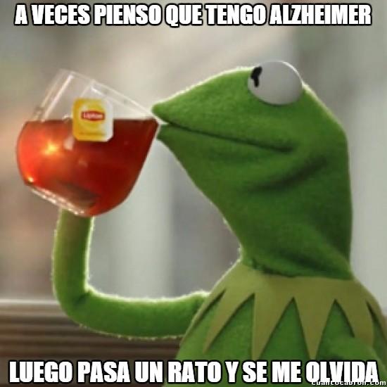 Meme_otros - Desventajas del Alzheimer