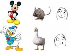 Enlace a No siempre son razonables los parecidos de los personajes animados con los animales que representan