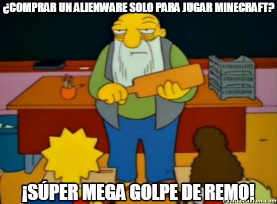 Golpe_de_remo - Esto es desperdiciar una gran máquina