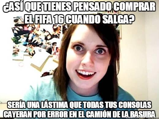 Novia_obsesiva - Desde que se sabe que el FIFA 16 tendrá equipos femeninos...